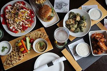 Bard & Banker Happy Hour, Pub Food