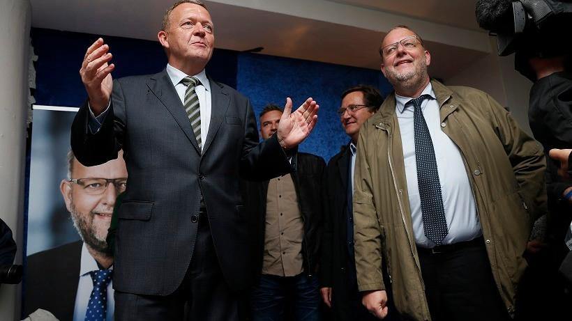 Klimaminister Lars Chr. Lilleholt (t.h.) tager dumpekarakteren fra WWF og Det Økologiske Råd roligt. Foto: Jens Astrup/flickr