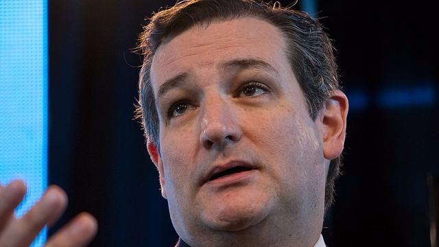 Den amerikanske republikanske præsidentkandidat Ted Cruz benægter, at den globale opvarmning sker. Foto: John Pemble/flickr