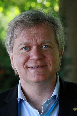 Brian Schmidt er astrofysiker og vandt Nobelprisen i fysik i 2011. Foto: Markus Pössel/Wikimedia Commons