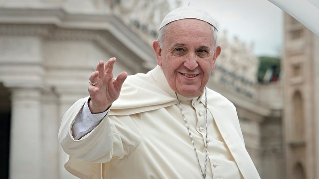 Pave Francis har gjort sig til en talsmand for klimaet og miljøet og opfordrer igen menneskeheden til at behandle kloden bedre. Foto: Aleteia Image Department/flickr