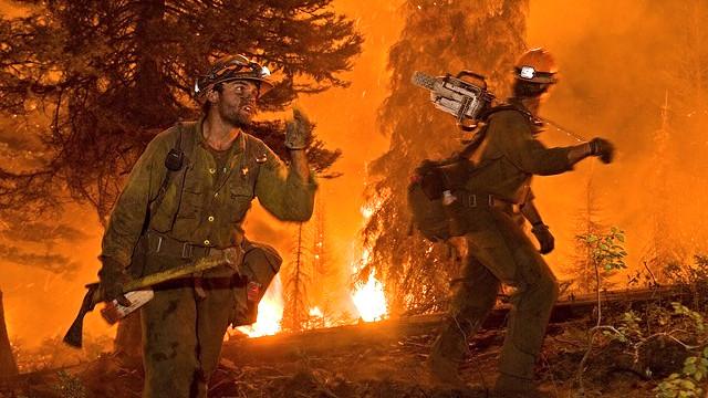 Flere nylige naturkatastrofer - særligt hedebølger med følgende skovbrande - er forårsaget af den menneskeskabte globale opvarmning, konkluderer forskere. Foto: US Forest Service photo/Kari Greer/flickr
