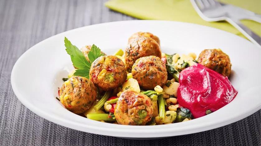 Ikeas nyeste ret er vegansk, det vil sige uden animalske ingredienser. Foto: Ikea