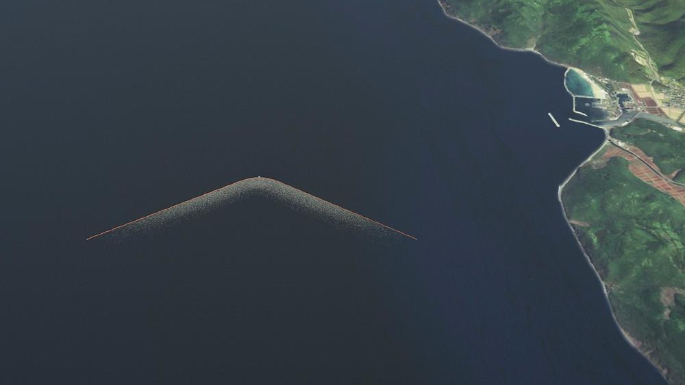 Et omfattende testforsøg begynder næste år. Det skal rydde op i vores hav. Foto: The Ocean Cleanup
