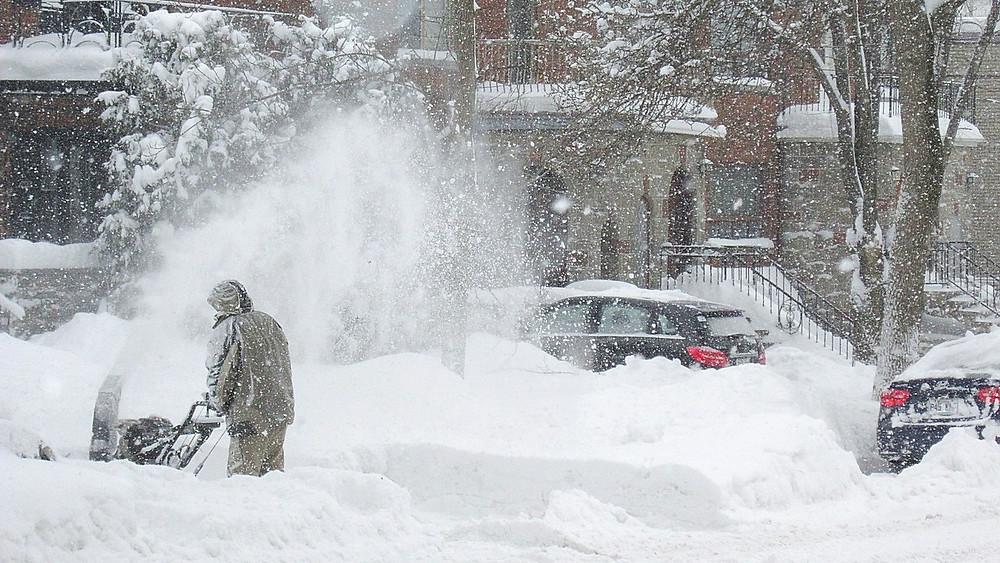 Mere sne og hårdere kulde kan hænge sammen med global opvarmning, viser et nyt studie. Foto: Pixabay