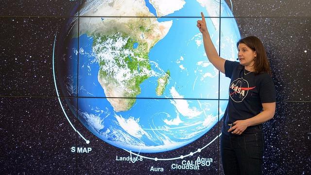 Nasa skal ikke længere forske i klimaet, mener Donald Trump. Foto: NASA/Joel Kowsky
