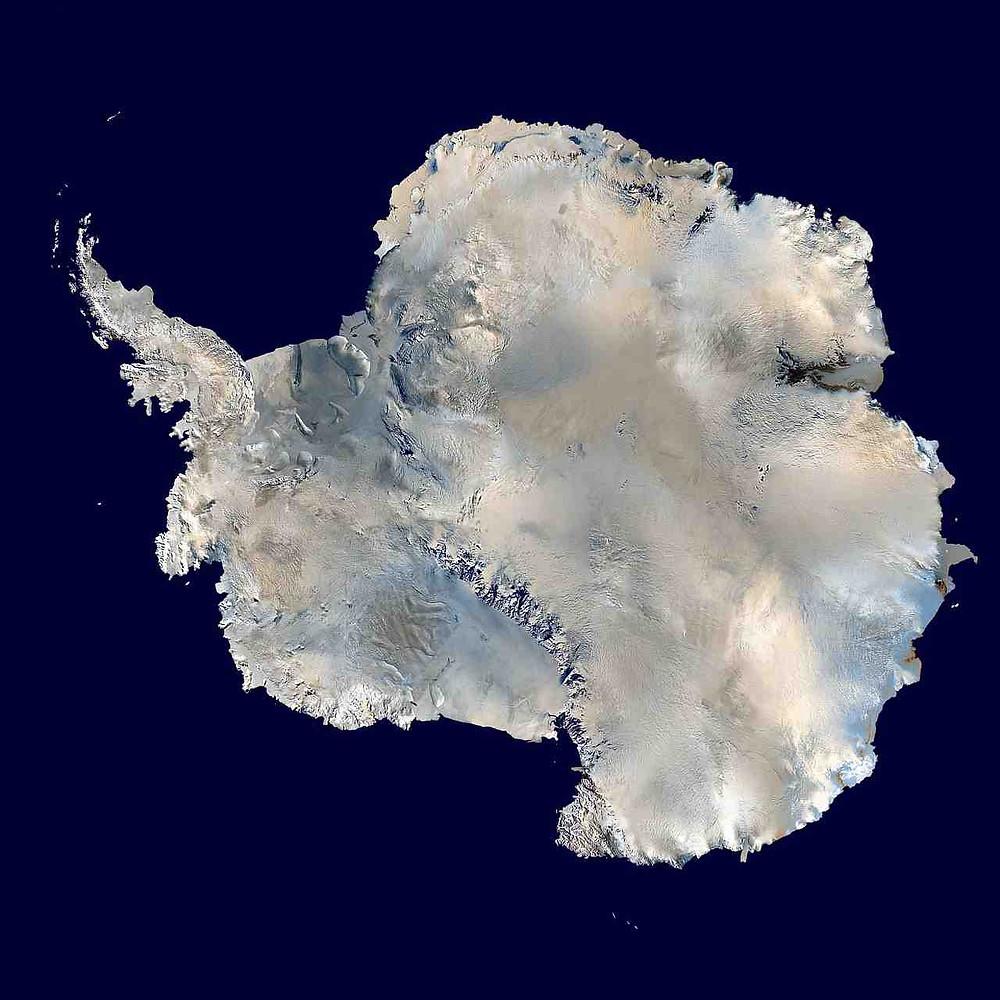 Den Antarktiske Halvø er den opadgående spids på den nordvestlige del af Antarktis. Foto: Pixabay