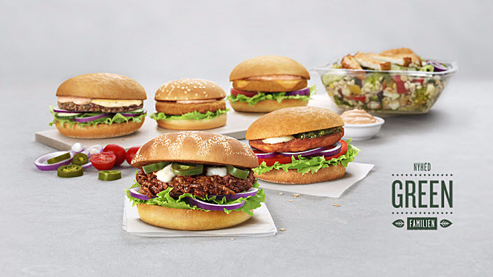 Burgerkæden Max indfører seks nye kødfri retter. Foto: Max Burger