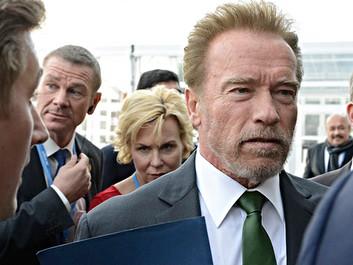 Schwarzenegger: Jeg vil skide på, om vi er enige om klimaforandringerne