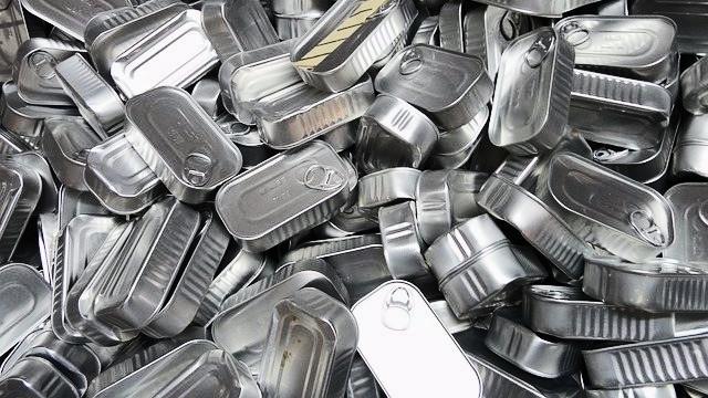 Mange dåser indeholder bisphenol A, der nu er havnet på EU's liste over hormonforstyrrende stoffer. Foto: Pixabay