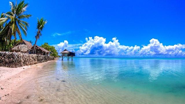 Det meste af Kiribati vil ligge under vand ved udgangen af dette århundrede, hvis vi ikke bremser den globale opvarmning. Foto: Nick Hobgood/flickr