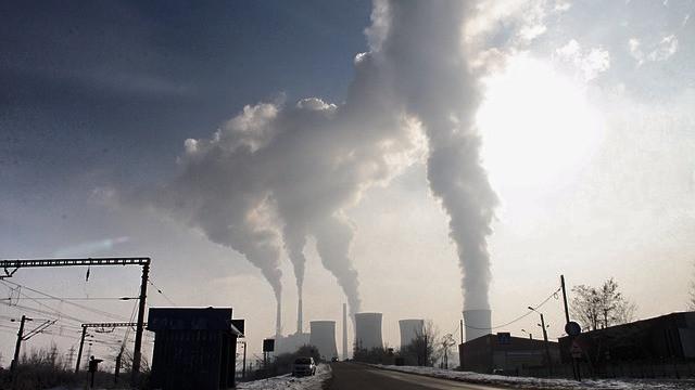 Mennesket udleder flere og flere drivhusgasser. Foto: Pixabay
