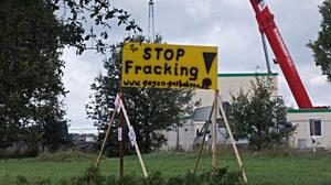 I såvel Danmark som andre europæiske lande, herunder Tyskland (billedet), er der protester mod skifergasboringer. Foto: Wikimedia Commons