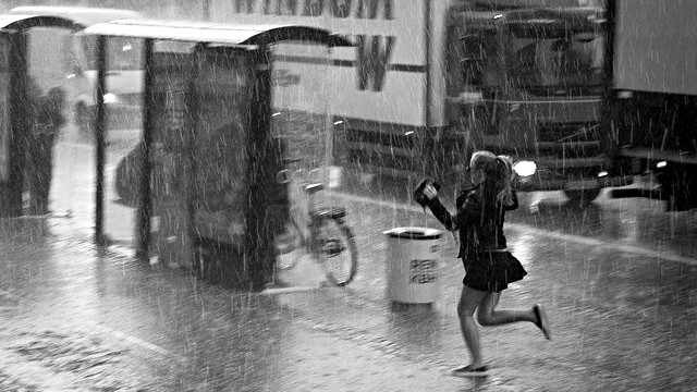 Nordeuropa vil opleve større mængder af nedbør som følge af klimaforandringerne. Foto: Lars Kjølhede Christensen
