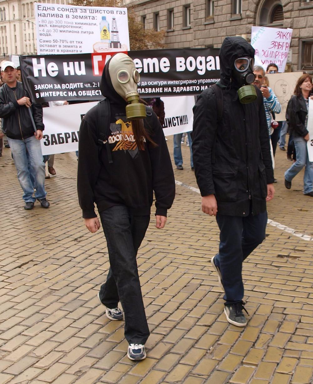 Fracking og boringer efter naturgas har er blevet mødt af protester i lande som USA, Storbritannien, Bulgarien, Tyskland og Danmark. Foto: Wikimedia Commons