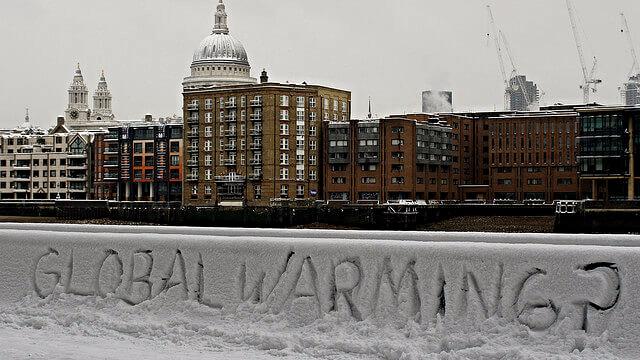 99,99 pct. af klimastudier fra 2013-2014 anerkender global opvarmning og menneskets ansvar. Foto: piblet/flickr