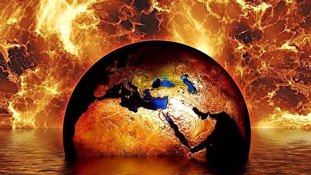 Den globale opvarmning fortsætter umindsket: Marts var 1,07 grader varmere end sit gennemsnit for 1900-tallet. Foto: Pixabay