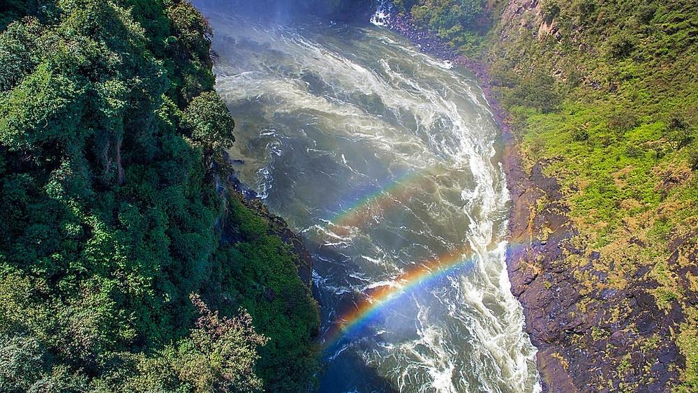 Mosi-oa-Tunya/Victoria Falls på grænsen mellem Zimbabwe og Zambia er på Unescos Verdensarvsliste. Men mange af naturområderne på listen er under pres fra mennesket, viser ny forskning. Foto: Ninara/flickr