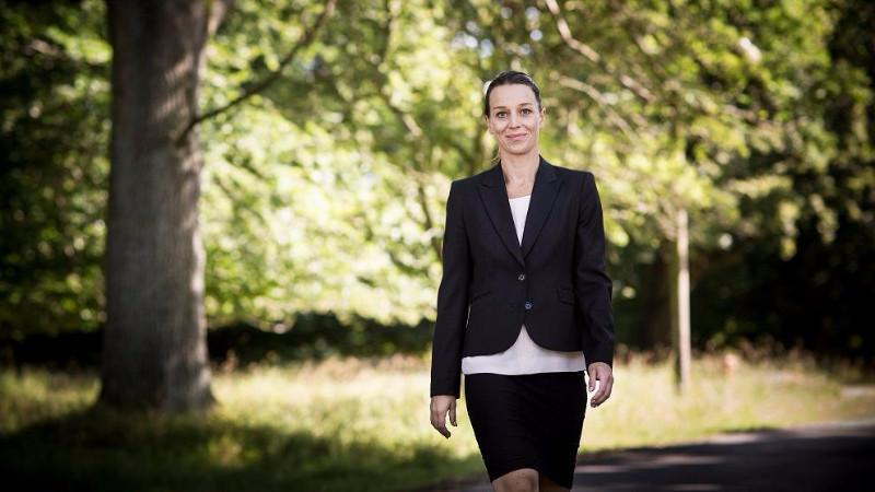 Miljøminister Kirsten Brosbøl (S) frygter, at Venstre vil nedlægge Miljøministeriet. Foto: Claus Bjørn Larsen