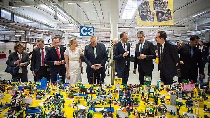 Lego vil arbejde på at stoppe al brug af plastik senest i år 2030. Foto: Lego Group
