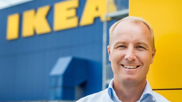Ikeas CEO, Peter Agnefjäll, fortæller, at kæden vil investere 7,5 mia. kr. i vedvarende energi og til at hjælpe områder, der er særligt sårbare over for global opvarmning. Foto: Scott Lewis/flickr