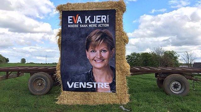 Miljø- og fødevareminister Eva Kjer Hansen er imod EU-forslaget om renere luft, fordi det medførte krav til dansk landbrug, som hun ikke ville acceptere. Foto: Venstre