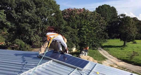 Solenergi er i høj vækst i USA, viser en ny rapport. Foto: Pixabay