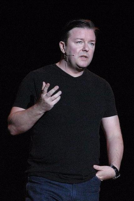 Ricky Gervais er en udtalt dyreforkæmper og modstander af jagten på ræve. Foto: Matt Hobbs/flickr