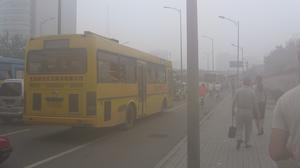 Flere storbyer lider under smog-problemer, og der har eksempelvis været protester blandt kinesiske indbyggere for at få politikerne til at gøre noget mod smoggen. Foto: Wikimedia Commons