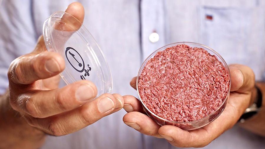 Fremtidens kød kan komme fra stamceller og være dyrket i et laboratorium. Foto: David Parry/PA Wire