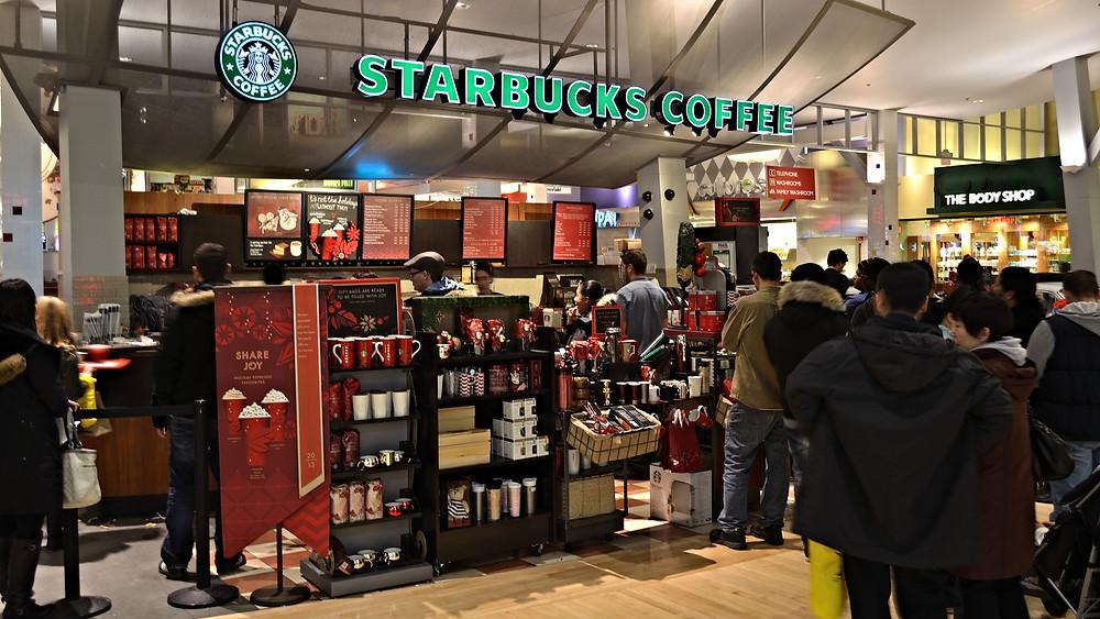 Starbucks garanterer, at 99 pct. af al indkøbt kaffe er etisk forsvarligt.