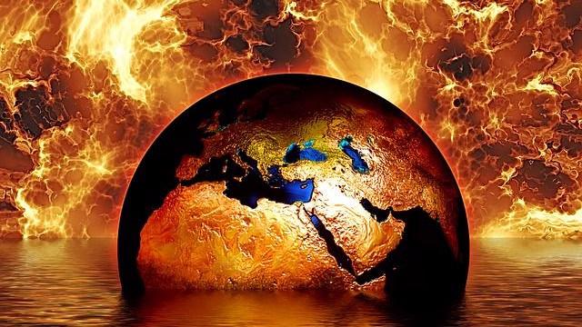 Sidst Jorden oplevede en lignende stigning i udledningen af drivhusgasser, var for 55 mio. år siden. Nu udledes der over ni gange så mange gasser. Foto: Pixabay