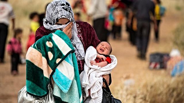 Klimaforandringerne vil jage indbyggere i Mellemøsten og Nordafrika på flugt, lyder det fra forskere. Foto: UNHCR/S. Rich/flickr