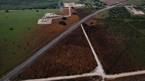 Plantelivet er dødt i en radius af 400 meter efter en skifergas-eksplosion i Texas. 20 familier er evakueret. Foto: Aaron Sprecher/Greenpeace