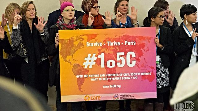 Der er håb om, at en klimaaftale i Paris vil anerkende behovet for at begrænse den globale opvarmning til maksimalt 1,5 grader celsius. Foto: Mark Dixon/flickr