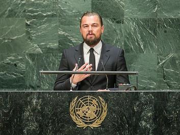 DiCaprio: Tilslut jer 100% vedvarende energi. Vent ikke én dag længere.