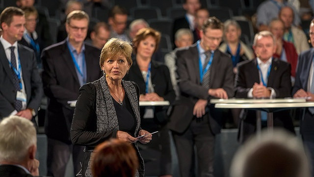 Den nye fødevare- og miljøminister, Eva Kjer Hansen (V), er glad for, at ministerierne er blevet lagt sammen. Foto: Henrik Bjerregrav