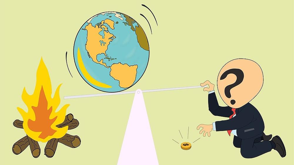 Den grønne omstilling går for langsomt, men vi må ikke give op, mener Bill McKibben, journalist og miljøforkæmper. Illustration: Pixabay
