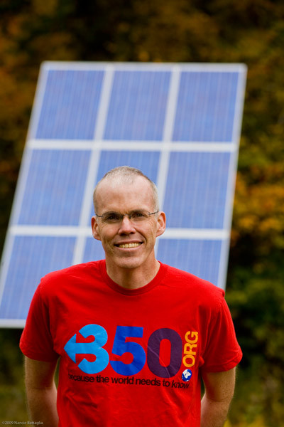 Bill McKibben har bl.a. stiftet klimaorganisationen 350.org. Foto: Nancie Battaglia