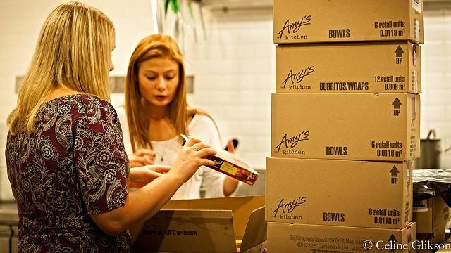 Producenten af vegetarretter Amy's Kitchen åbner sin første restaurant i næste måned. Foto: Céline Glikson