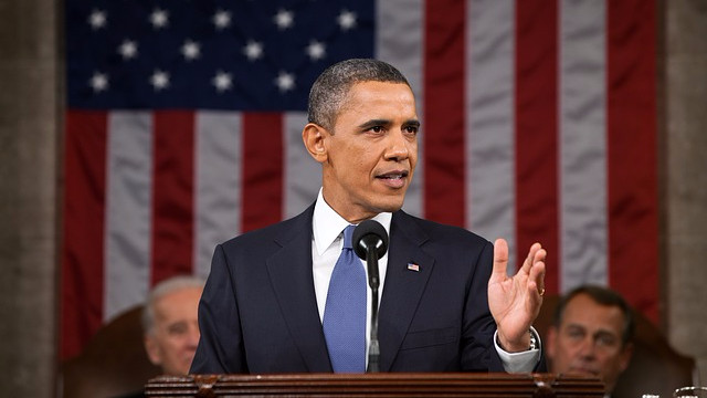 Den amerikanske præsident, Barack Obama, advarer om, at den afrikanske elefant er ved at uddø. Foto: Pete Souza/Pixabay