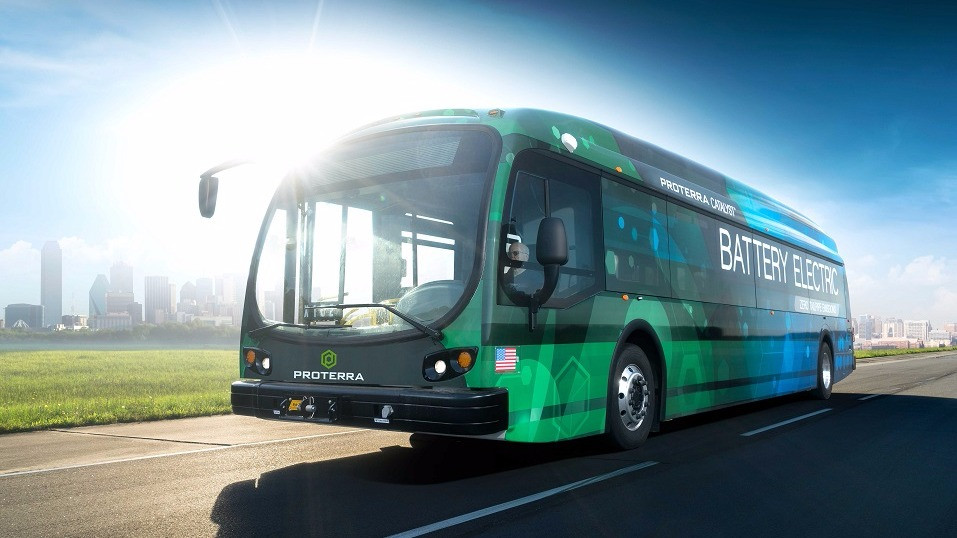 Proterras nye topmodel af elbusser kan køre over 560 km på én opladning. Foto: PR/Proterra