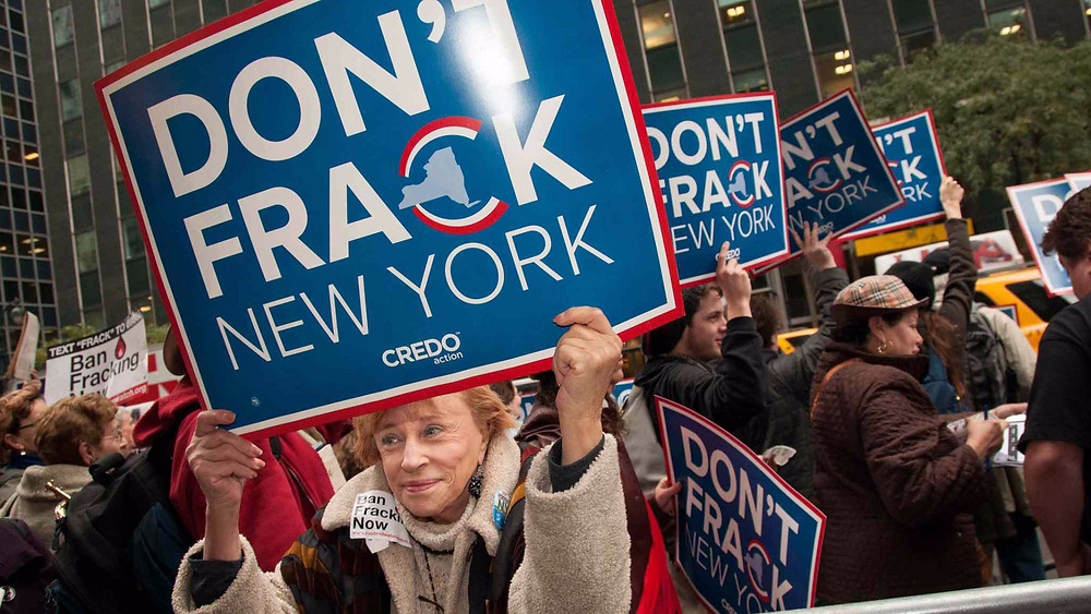 Trods sine massive gasfelter har staten New York valgt at forbyde boringer. Foto: Adam Welz/CREDO Action