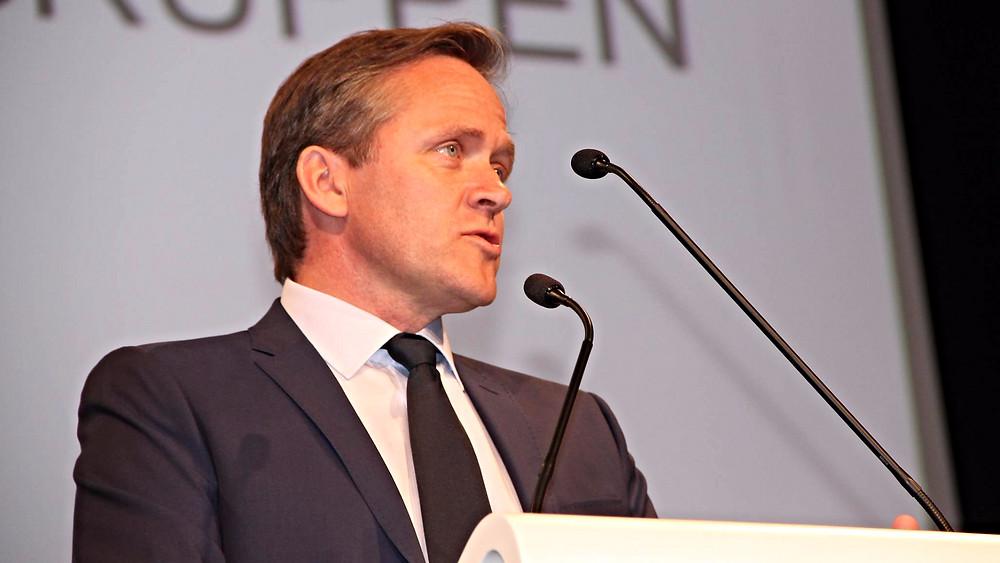 Anders Samuelsen undsiger sin klimaordfører i debatten om global opvarmning. Foto: Liberal Alliance/PR