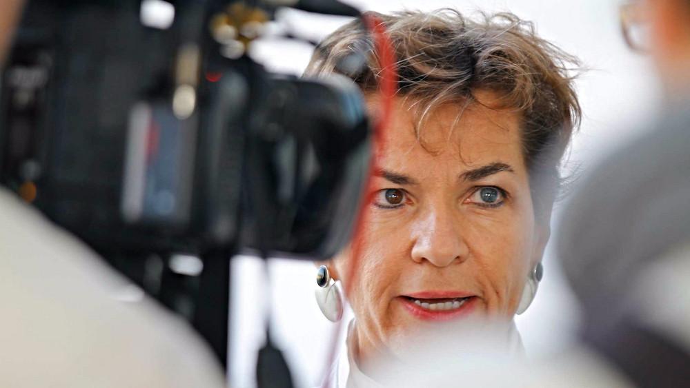 Christiana Figueres, chef for FN's klimaafdeling, UNFCCC, er overbevist om, at man når en klimaaftale i Paris sidst på året. Foto: Arend Kuester