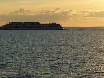 Krydstogtskibe tømmer lort i havet