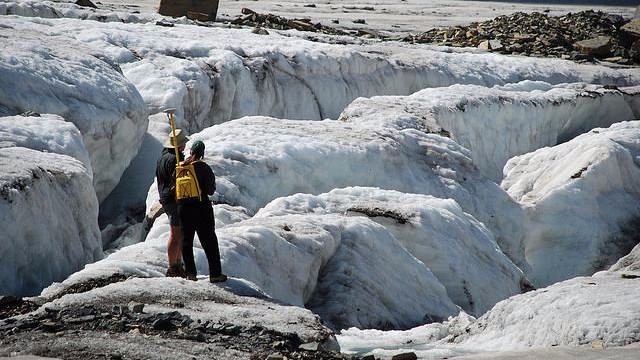 Gletsjerne smelter hurtigere end før, viser et nyt studie. Foto: USGS Photo