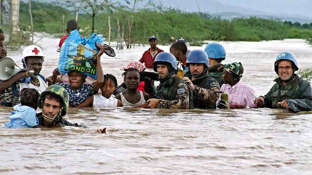 Milliarder af mennesker vil blive ramt af oversvømmelser, hvis klimaforandringerne fortsætter. Foto: UN Photo/Marco Dormino