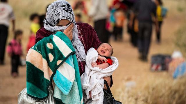 Endnu et studie har fundet en klar sammenhæng mellem klimaforandringer og borgerkrig. Foto: UNHCR/S. Rich