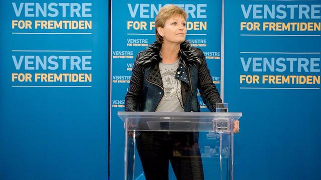 Fødevare- og miljøminister Eva Kjer Hansen (V) drager mod EU for at forhandle en lempelse af den tidligere regerings løfte om at sænke ammoniakforureningen. Foto: Jens Astrup